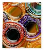 Color Frenzy 7 Fleece Blanket