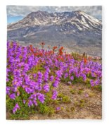 Color From Chaos - Mount St. Helens Fleece Blanket