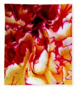 Color In A Carnation Fleece Blanket