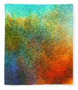 Color Infinity - Abstract Art By Sharon Cummings Fleece Blanket
