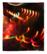Color Light Motion Fleece Blanket