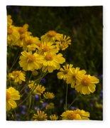Color Me Yellow  Fleece Blanket