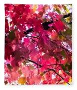 Color My World Fleece Blanket