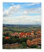 Color Of Tuscany Fleece Blanket
