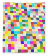 Color Quilt Fleece Blanket