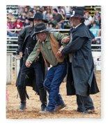 Color Rodeo Shootout Deputies Arrest Outlaw Fleece Blanket