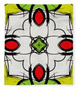 Color Symmetry  Fleece Blanket