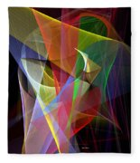 Color Symphony Fleece Blanket