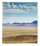 Color View Of West Texas Fleece Blanket