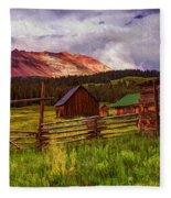 Colorado Dreamin' Fleece Blanket