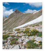 Colorado Elkhead Pass Fleece Blanket