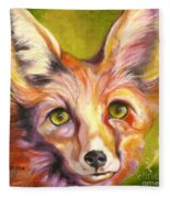 Colorado Fox Fleece Blanket