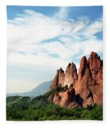 Colorado - Garden Of The Gods Fleece Blanket