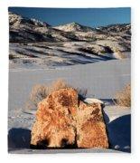 Colorado Glow Fleece Blanket