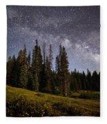 Colorado Milky Way Fleece Blanket