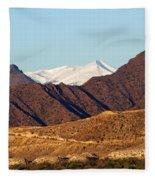 Colorado Mountain High Fleece Blanket