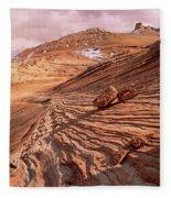 Colorado Plateau Sandstone Arizona Fleece Blanket