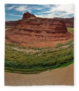 Colorado River Gooseneck Fleece Blanket