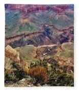 Colorado River Grand Canyon Fleece Blanket