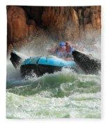 Colorado River Rafters Fleece Blanket