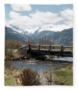 Colorado - Rocky Mountain National Park 03 Fleece Blanket