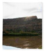 Colorado Sparkle Fleece Blanket