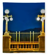 Colorado Street Bridge 3 Fleece Blanket