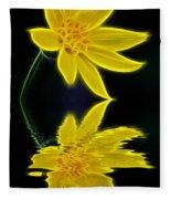Colorado Wildflower Fleece Blanket