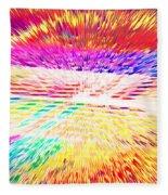 Colorburst Landscape Fleece Blanket