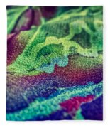 Colored 2 Fleece Blanket