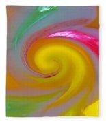 Marble Jelly Swirl Fleece Blanket