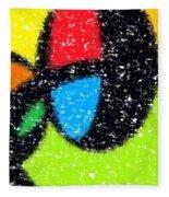 Colorful Abstract 5 Fleece Blanket