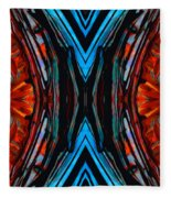 Colorful Abstract Art - Expanding Energy - By Sharon Cummings Fleece Blanket