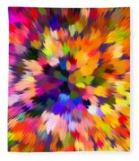 Colorful Abstract Background Fleece Blanket