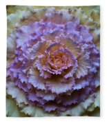 Colorful Cabbage Fleece Blanket