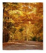 Colorful Canopy Fleece Blanket
