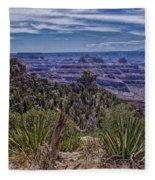 Colorful Canyon Fleece Blanket