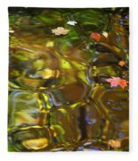 Colorful Carmel Fleece Blanket