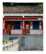Colorful China Fleece Blanket