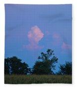 Colorful Cloud Fleece Blanket