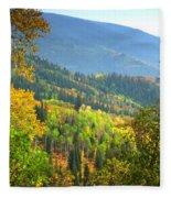 Colorful Colorado Fleece Blanket