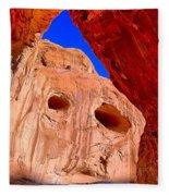 Colorful Corona Rocks Fleece Blanket