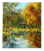 Colorful Dreams Fleece Blanket