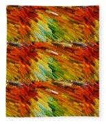 Colorful Extrude 2 Fleece Blanket