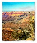 Colorful Grand Canyon Fleece Blanket