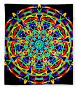 Colorful Kolide  Fleece Blanket