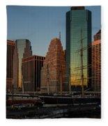 Colorful New York  Fleece Blanket
