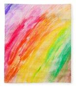 Colorful Painting Pattern Fleece Blanket