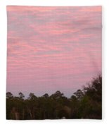 Colorful Sky Number 2 Fleece Blanket