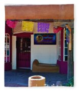 Colorful Store In Albuquerque Fleece Blanket